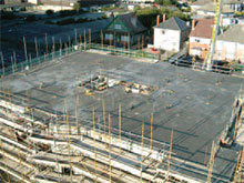 Cast top-third of walls and slab – End of Cycle.